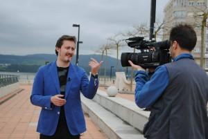 presentador tele gallega
