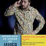 """Monólogo """"Saúdame Sempre"""" en Arteixo - Javier Varela"""